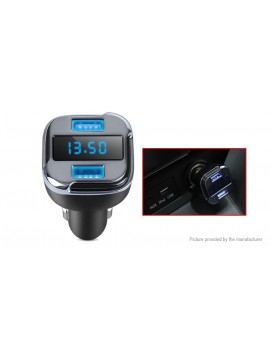 2-in-1 Vehicle GPS Tracker USB Car Cigarette Lighter Charger