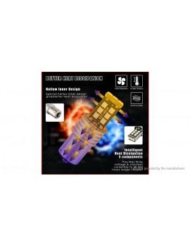 1156 15W 15*2835 SMD 1000LM 7000K Car Turn Signal LED Brake Light Bulb (Pair)