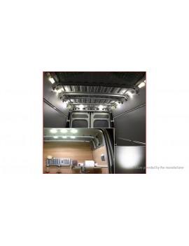 12V RV Caravan LED Interior Ceiling Dome Light Lamp Set (8-Pack)