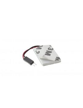 12S-3535W SV85 / T10 1.3W 194LM 8000K White Light 12*5050 SMD Car Signal Lamp