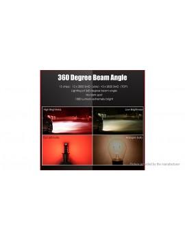1157 15W 15*2835 SMD 1000LM Red Light Car Turn Signal LED Brake Light Bulb (Pair)