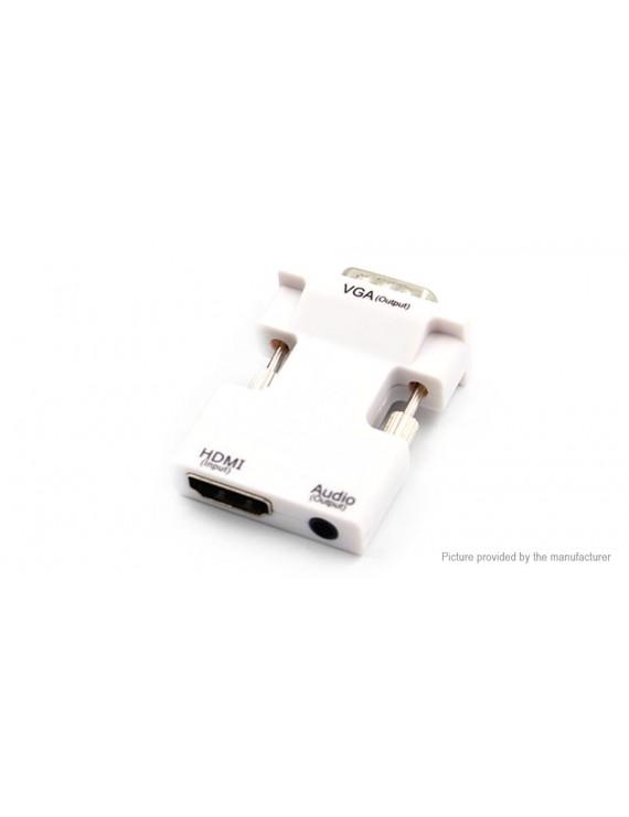 1080p HDMI to VGA AV Converter Adapter