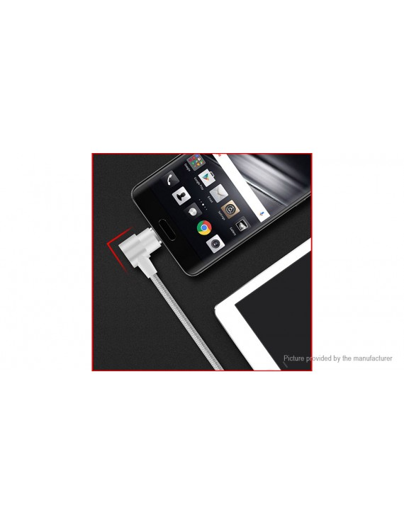 YAOMAISI Q13 L-type 3-in-1 Magnetic Data Sync / Charging Cable (100cm)